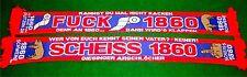 "Anti 1860 Schal ""GIESINGER"" Ultra Fan Block Scarf 100% Acryl + NEU + 150x15 cm +"