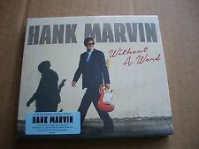 HANK MARVIN - WITHOUT A WORD - CD ALBUM WITH A SIGNED PHOTOGRAPH - NEW & SEALED
