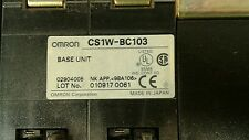 Omron CS1G SYSMAC PLC - see description for indivd modules included.        3B