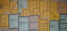 SHEET MUSIC MINIATURE ORCHESTRA SCORES! FOUR (4) FOR $20! YOU CHOOSE WHICH ONES!