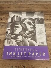Ultratech Ink Jet...Ink Jet Paper by Mead Gilbert Paper
