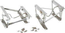 Seat Pedestals Polished Stainless Pair Jeep CJ Wrangler YJ 1976-1990 30552