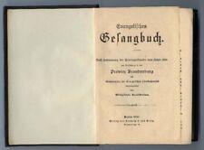 Evangelisches Gesangbuch aus Berlin 1909 Buch0007
