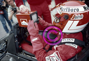 Original 35mm Racing Slide F1 Niki Lauda - McLaren 1985 San Marino Formula 1