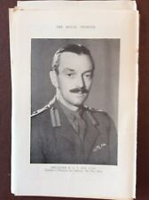 H1a Ephemera 1950s Royal Pioneer Picture Brigadier R A T Eve