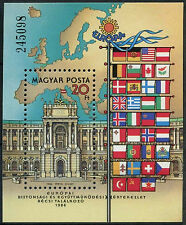 Hungary 1986 SG#MS3717 Security And Co-Op Conf. MNH M/S #D2630