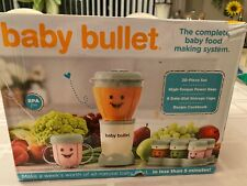 Magic Baby Bullet Complete Food Blender Processor System - NEW never Used/opened