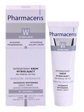 Pharmaceris Whitening night cream lightens hyperpigmentation spot discoloration