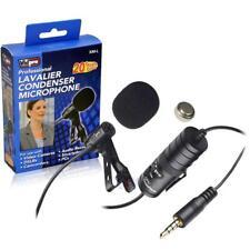 Canon Rebel T6i HS Digital Camera Vidpro External XM-L Lavalier Microphone