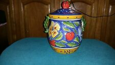 Clay Art Amalfi Large Canister or Cookie Jar