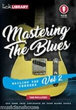 LICK LIBRARY LEARN TO PLAY MASTERING THE BLUES Lesson GUITAR DVD PART TWO LICKS