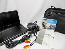 "Sony DVP-FX980 Portable DVD/CD Player with 9"" Screen  & Case TESTED No Remote"