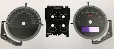 Mustang GT500 2010 2011 2012 km/h kmh faceplate cluster