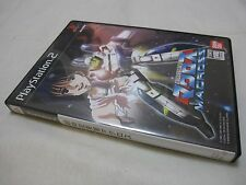 7-14 Days to USA. USED PS2 Macross The Super Dimension Fortress Japanese Version