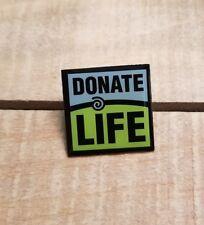 """Donate Life Lapel Pin Organ Donation 1"""" X 1"""""""