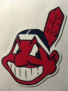 Cleveland Indians Chief Wahoo 6 Inch Car Magnet Indians magnet cleveland indians