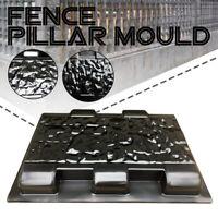 Fence Pillar Moulds Cement Stone Concrete Paving Path Mold Stepping Patio Garden