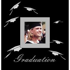 Graduation Photo Album in Black   Graduation Keepsake   Gift Boxed