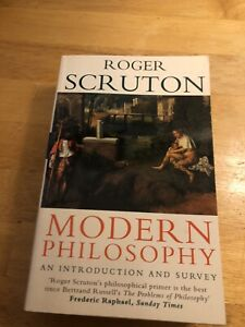 Modern Philosophy An Introduction and Survey by Roger Scruton Paperback Book