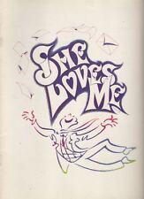 """She Loves Me""  Revival  Souvenir  Program  1993   Boyd Gaines   Bock & Harnick"