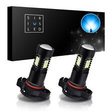 SiriusLED H16 High Power LED Fog Daytime Driving Light Bulbs 10000K Icy Blue 2x