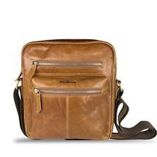 Leather Small Sling Satchel Shoulder Bag Crossbody Men's Fashion Travel Backpack