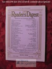 RARE Readers Digest May 1936 Ernest Hemingway Rose Wilder Lane