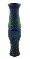 Zink Calls Blueberry Swirl Greenhead Rocker Double Reed Duck Call Waterfowl New!