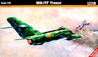 MiG-17 F FRESCO C (VIETNAMESE, INDONESIAN, POLISH, GERMAN MKGS) 1/48 MISTERCRAFT