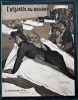 L'Assiette au Beurre #13 Issy Factory Explosion 1901 French Satire Art Magazine