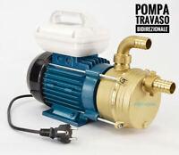Pompa travaso vino elettrica Reversibile elettropompa per olio gasolio liquidi