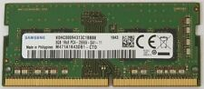 Neues AngebotSamsung 8gb ddr4 pc4-21300, 2666mhz, 260 Pin SODIMM 1.2v CL 19 Laptop RAM Memory