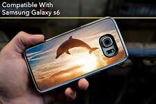 Dolphin Dive Awesome Hard Case Fits Samsung Galaxy S6