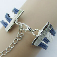 Mare Estate Ancora Bracciale Timone catena braccialetto argento Uomo Donna xy