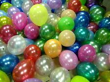 Large PLAIN BALONS BALLON RIBBON helium BALLOONS Quality Birthday Wedding baloon