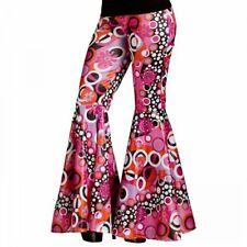 Bell Bottoms Flared Pants Adult 60s 70s Hippie Costume Halloween