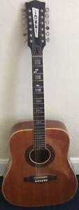 Eko Ranger XII Acoustic Guitar Used Damaged