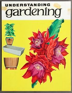 Original Painted Cover Illustration for Understanding Gardening  May 16, 1964