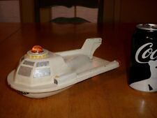 WOODEN SPACESHIP PROP [HANDMADE & PAINTED] , Vintage #1960's yrs. USA MADE