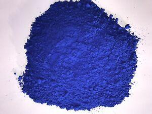 Blau Farbpulver Ultramarinblau Oxidfarbe Farbpigmente Trockenfarbe Beton Estrich
