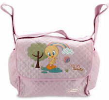 Baby Looney Tunes - Big, Pink - Pram Bag New Mums - Size: 37 x 26 x 17 cm