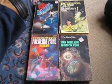4 x frederik pohl books