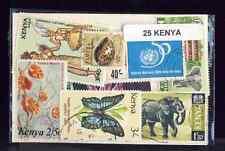 Kenya 25 timbres différents