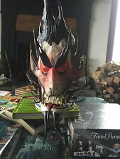 "100% Handmade Leather Mask ""Guardian"""