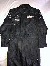 MCLAREN F1 TEAM RACE PIT CREW SUIT✔️BOSS SILK SUIT✔️RARE TOBACCO BRANDING✔️RARE!