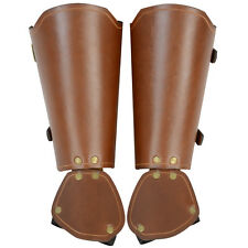 Brown Squire's Leather Gauntlets ,Pirate, Steampunk,Medieval,Cosplay,LARP