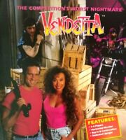 Konami Vendetta Arcade FLYER Original Video Game Art Print Sheet NOS 1991