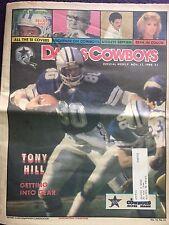 """ NFL Dallas Cowboys Official Weekly Magazine November, 17, 1984; Vol. 10, No.23"