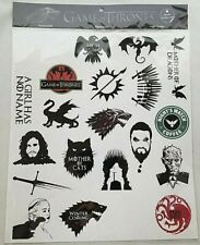 Game of Thrones Removable Sticker Pack Ft Waterproof Stickers High Quality Decal