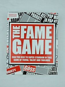 The Fame Game Board Game By Marks and Spencer